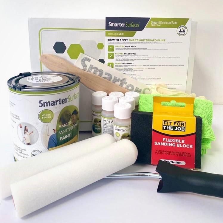 Pittura-Lavagna-Bianca-Smart-kit-completo-e-guida-di-applicazione