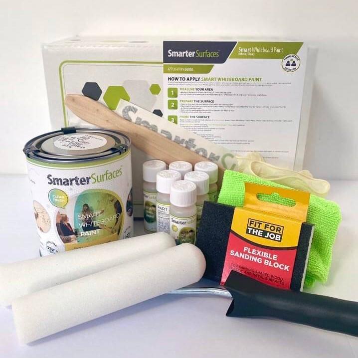 Pittura-Lavagna-Transparente-Smart-kit-completo-e-guida-di-applicazione