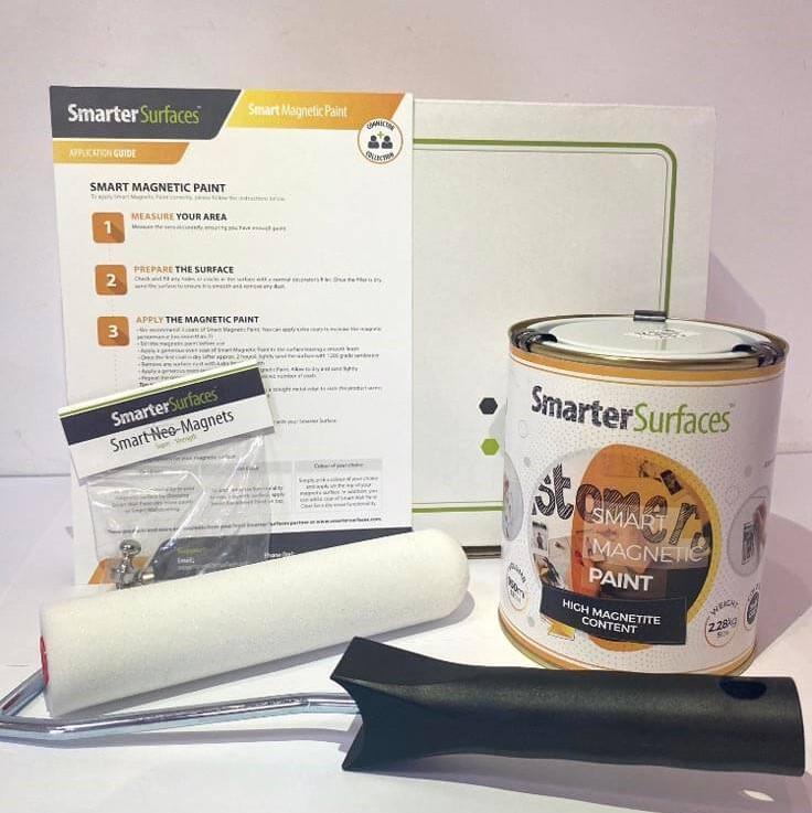 Pittura-Magnetica-kit-completo-con-guida-di-applicazione-e-magneti