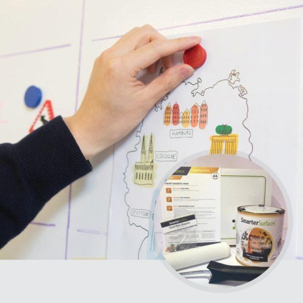 Pittura-Magnetica-prodotti-in-uso-con-kit-completo