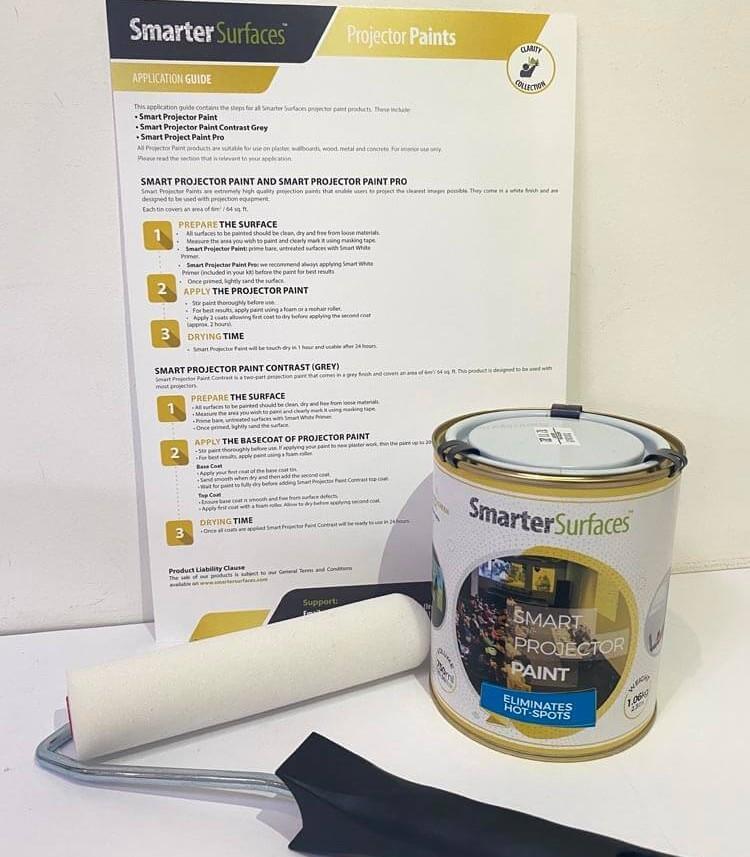 Pittura-Proiettore-kit-completo-con-guida-di-applicazione