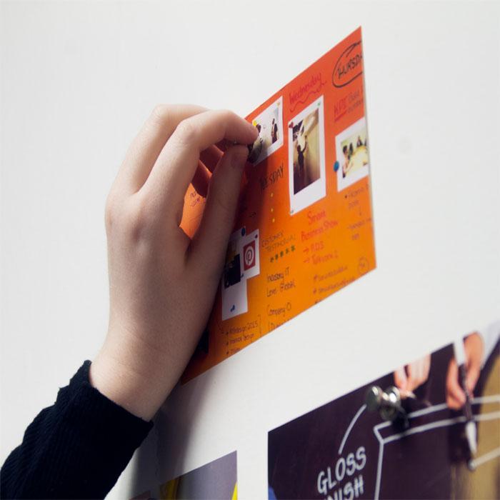 carta da parati muro magnetico da ufficio bianco
