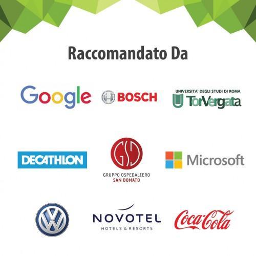 Clienti in Italia che hanno scelto la pellicola adesiva smart lavagna e proiettore smarter surfaces