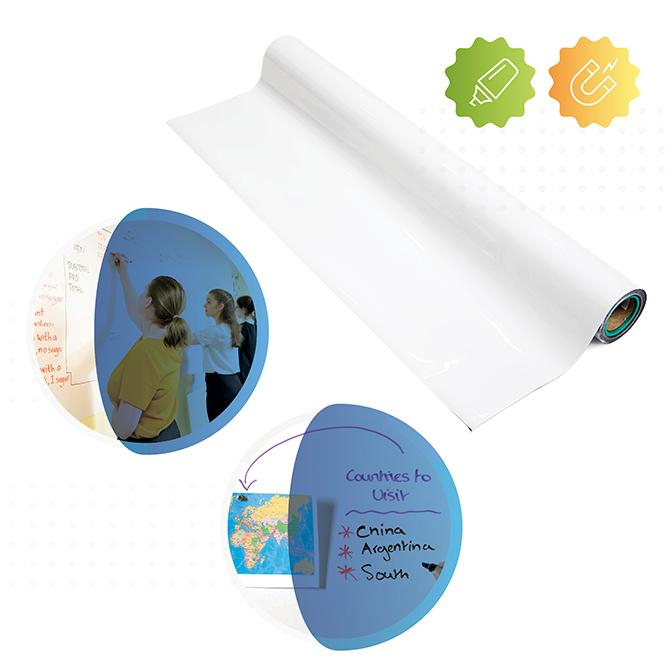 carta parati lavagna magnetica scrivibile a pennarello smarter surfaces