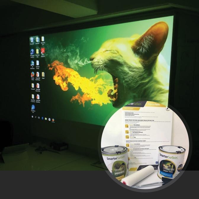 Pittura-Proiettore-Pro-prodotto-in-uso-con-kit-completo