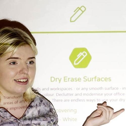 Pittura-Proiettore-Pro-prodotto-in-uso-durante-la-presentazione