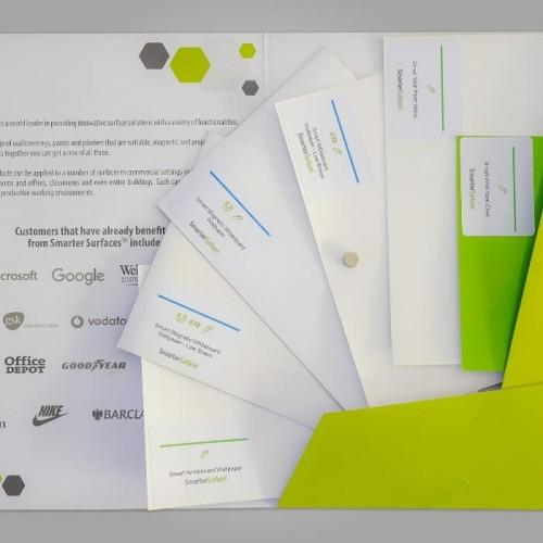 confezione campioni prodotti scrivibili lavagna smarter surfaces