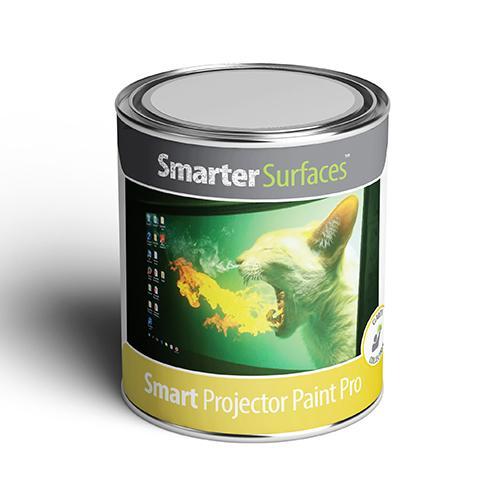 barattolo pittura proiettore pro smarter surfaces