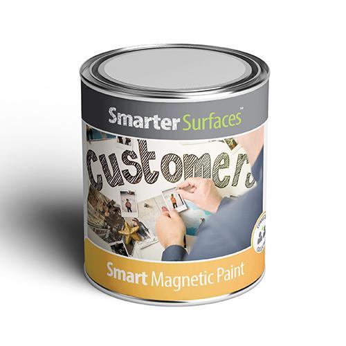 barattolo vernice magnetica smarter surfaces