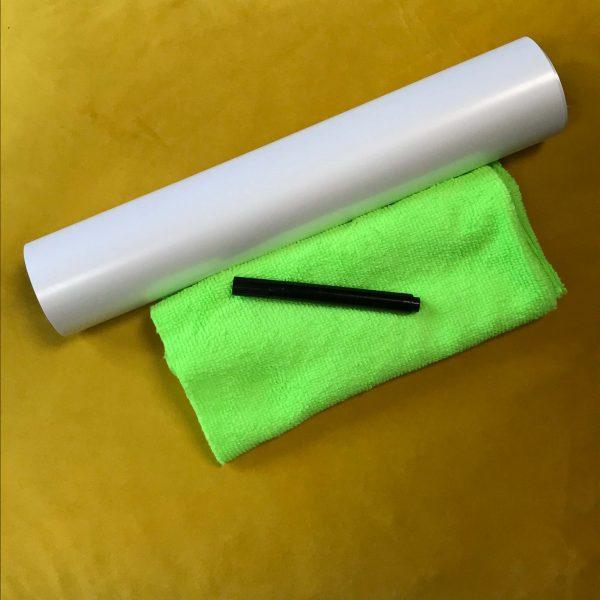 campione grande pellicola lavagna adesiva smarter surfaces