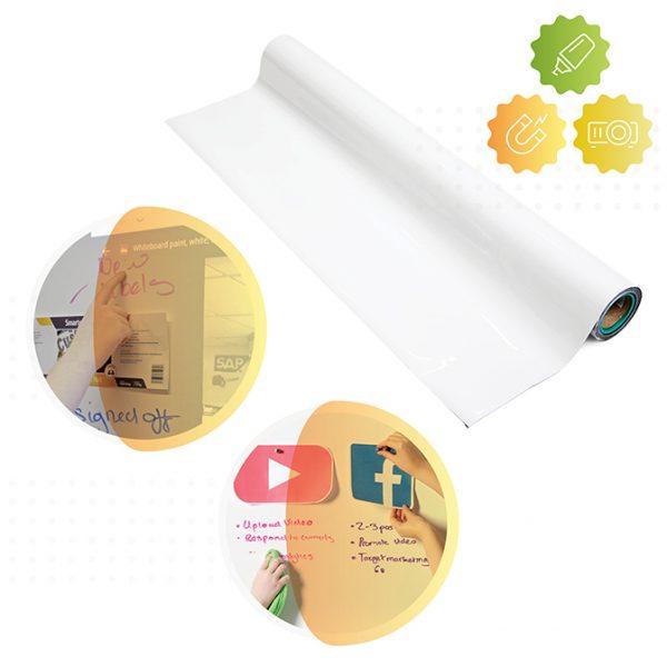 rotolo della carta da parati lavagna magnetica e proiettore di smarter surfaces
