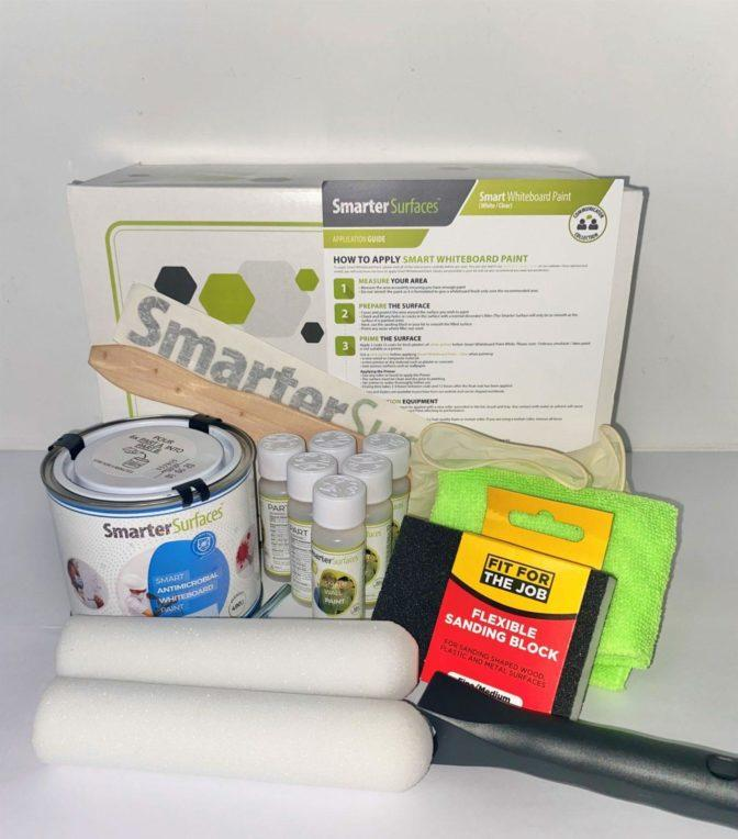 Pittura Lavagna Antimicrobia Smart Kit Completo